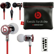 White & Black ORIGINAL Monster Beats by iBeats In Ear Headphones Earphones - NEW