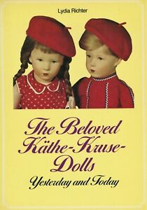 German Kathe Kruse Dolls - History Types Names Dates / Book + Price Guide