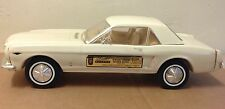 Jim Beam Decanter 1964 Ford Mustang off white in box, muscle car bar decor FW111