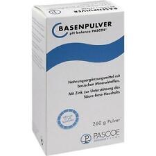 BASENPULVER Pascoe 260g PZN 47415