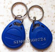 10pcs RFID 125KHz  Proximity ID Token Tag Key Keyfobs Chain-Blue TK4100