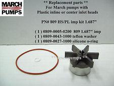 March  809 HS / PL  1.687 impeller kit    home brewing pump parts