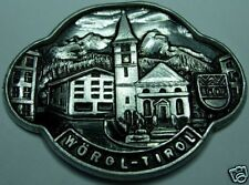 Wörgl Tirol stocknagel medallion badge G4979