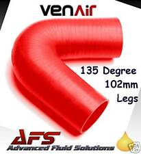 RED 16mm 5/8 I.D 135 SILICONE ELBOW VENAIR SILICON HOSE
