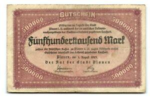 Germany 500,000 Mark 1923 aVF