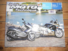 REVUE TECHNIQUE MOTO HONDA 125 PCX // YAMAHA FJR 1300 A  et AS