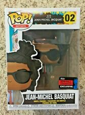 Funko POP! Jean-Michel Basquiat 2019 NYCC Fall Convention Exclusive #02 Artists