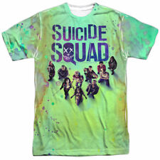 SUICIDE SQUAD SUBLIMATED T-SHIRT MEN'S XL BRAND NEW OFFICIALLY LICENSED!