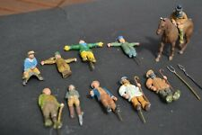 O Gauge Model Railway Accessories - Hand Painted White Metal Figures