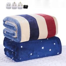 Electric Heated Blanket Waterproof Thicker Flannel 220V Winter Heating Mattress