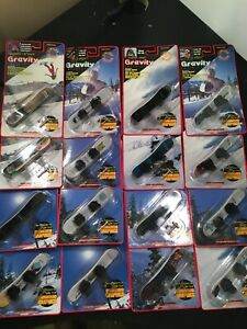 16 Team Gravity Fingerboard Snowboard Lot New Rare Limited Edition Variations