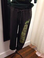 UNCC Charlotte Ladies SMALL Glitter BLING Dark Gray Sweatpants T-shirt NEW $32