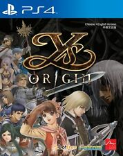 New Sony PS4 Games Ys Origin HK version Chinese/English Subtitle