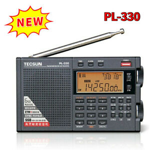 NEW Tecsun PL330 Full Band Radio FM Stereo LW/MW/SW SSB DSP Receiver Shortwave