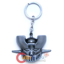 Mazinger Z Head Key Chain 3D Pewter Metal Key Ring
