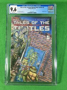TALES OF THE TEENAGE MUTANT NINJA TURTLES TMNT 4 - MIRAGE - CGC 9.6 WP - 1988