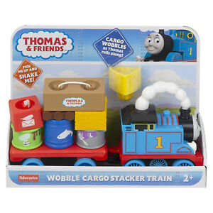 Fisher Price Thomas Friends Wobble Cargo Stacker Train Set NEW IN STOCK