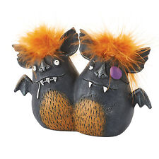 4052616 Ying & Yang Bat Bro Witches Pet Halloween Table Distressed Decoration