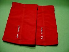 One pair of McDavid Hex Technology pads.Size 2 Xl.Bright red. Pristine condition