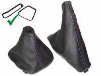 Shift & E brake Boot For BMW E46 1999-05 With Inner Plastic Frame M3 Stitching