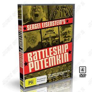 Battleship Potemkin DVD : (1925) Original Sergei Eisensteins Film  : Brand New