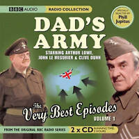 DAD'S ARMY THE VERY BEST EPISODES VOL 1 - NEW UNSEALED - 2 CD'S BBC AUDIO CD