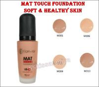 Flormar Mat Touch Foundation 30 ml Mat Look Soft & Healthy Skin