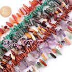 "10-13x15-18mm Freeform Stick Gemstone Beads 15"" For Jewelry Making,Pick Stone"