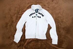 Abercrombie & Fitch Men Jacket - Cream White - Medium - BNWT
