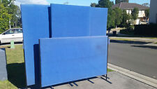 FREESTANDING PARTITION*OFFICE ROOM DESK DIVIDER*4 MATCHING*ACOUSTIC SCREEN*USED