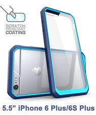 SUPCASE iPhone 6 Plus/6S Plus Unicorn Beetle Hybrid Protective Bumper Case Blue