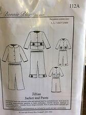 BONNIE BLUE DESIGNS-ZOE & ZACHARY # 111 PATTERN SIZE PREEMIE, NEWBORN - 6MONTHS