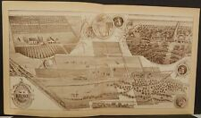 California Tulare County Map Owned by W.F. Kelsey Visalia 1892 !W12#80