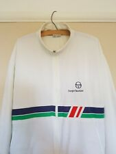 Sergio Tacchini Vintage 80s Mens Satin Tracksuit Top Jacket •M• Ultras Italia