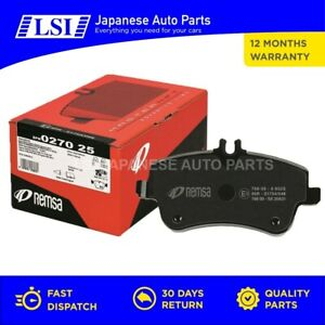 Rear Brake Pads Remsa made in Europe for VW Jetta Passat