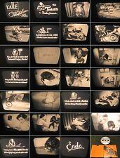 16mm Film-Ozaphan/Kalle 1940 Jahre-Slapstick-Tier Comedy-Affe Tankstelle im Bad