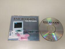 718- BAD RELIGION I LOVE MY COMPUTER CD PUNK PROMO 2 TRACK GERMANY 2000