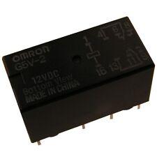 OMRON G5V2-12 Relais 12V DC 2xUM 2A 288R Relay for Signal Circuits 854063
