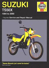 Suzuki TS50X 1984-2000 Repair Haynes Owners Workshop Manual