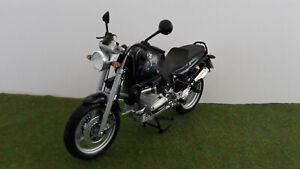 moto BMW R 1100 R bleue échelle 1/10 fabric MAISTO 31601 miniature de collection