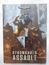 WARHAMMER 40,000 STRONGHOLD ASSAULT SUPPLEMENT BOOK 40K, NEW, Hardback
