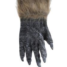 Hairy Gloves Wolf Werewolf Hands Halloween Cosplay Props Dress Gloves SK