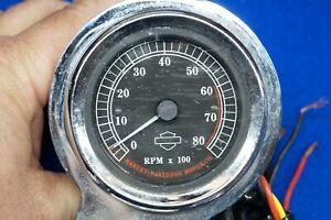 "Genuine Harley Davidson 2-5/8"" Mini Tach Tachometer & Handlebar Mount 1996-2021"