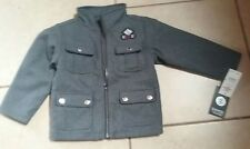 Enyce Toddlers Boy Grey Wool Style Coat SIZE 2T NEW