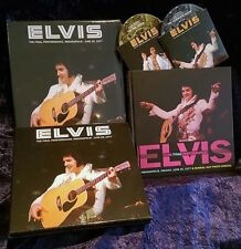 ELVIS THE FINAL PERFORMANCE DELUX EDIT BOX SLIPCASE BOOK 2 CDS 26/6/1977 SCELLÉ
