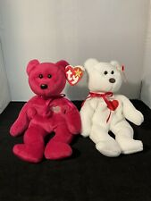 Ty Beanie Babies Valentina+Valentino Vintage Rare Vintage With Tags