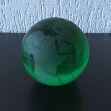Wasser-laufender Glaskugel für Zimmerspringbrunnen,  Weltkugel, Globus, 10 cm