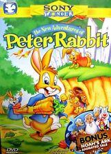 Enchanted Tales New Adventures of Peter Rabbit DVD Cartoon Easter Bunny Noah Ark