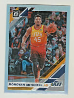 2019-20 Panini Donruss Optic SILVER REFRACTOR PRIZM #59 DONOVAN MITCHELL Jazz