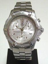 TAG-HEUER 2000 EXCLUSIVE CN1111 CHRONOGRAPH WATCH, MEN´S, WR 200M, DATE, QTZ